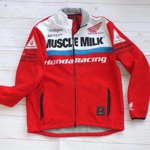 TROY LEE RACING HONDA JACKET M RED MOTORCYCLE